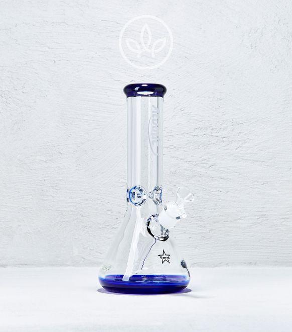 Glasbong Eis 30cm 9mm Glas