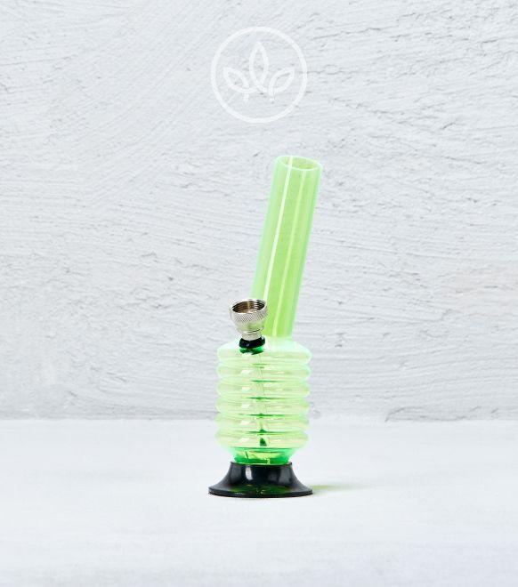 Mini Acrylbong 15cm, Grün