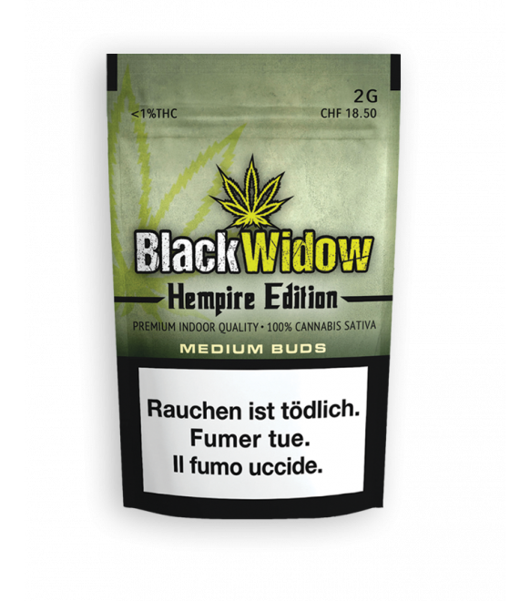 Black Widow Hempire Edition Medium Buds
