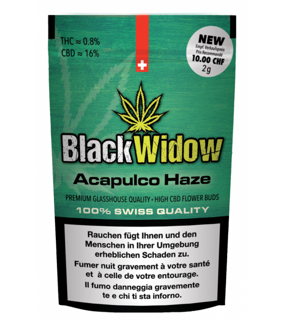 Black Widow Acapulco Haze