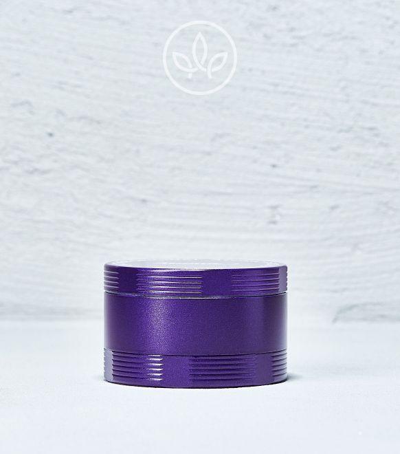 Broyeur en métal Basic 60mm à 4 pièces, Violet